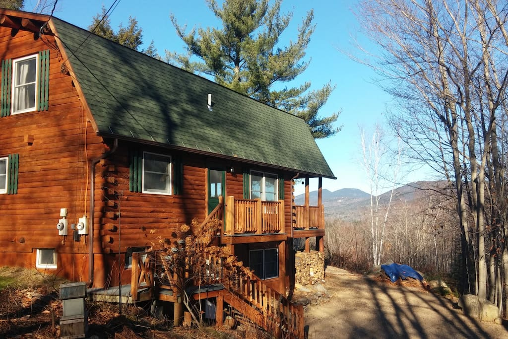 Mountain Views From Log Cabin Dream Houses For Rent In