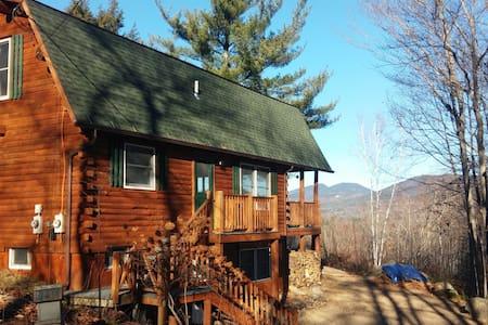 Mountain Views from Log Cabin Dream - Bartlett - House