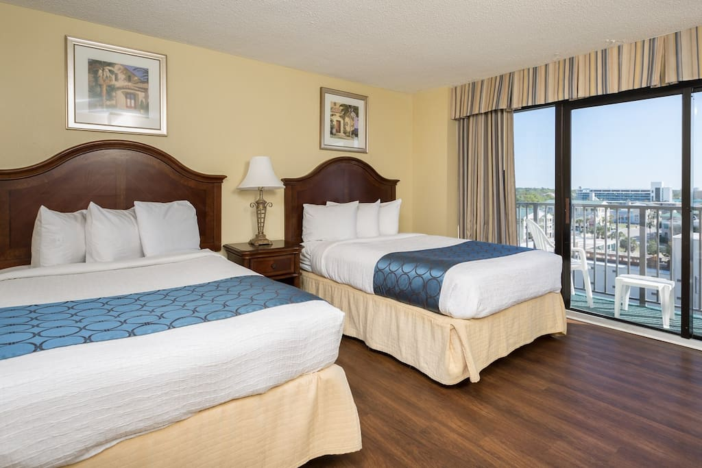 Your room features 2 full-sized beds.
