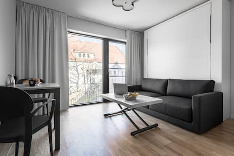 Modern Studio in Lidingö with Free parking