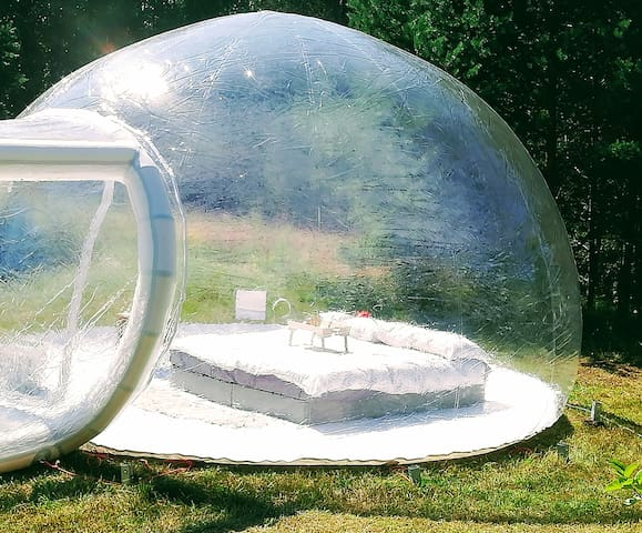 Enough space in bubble-house