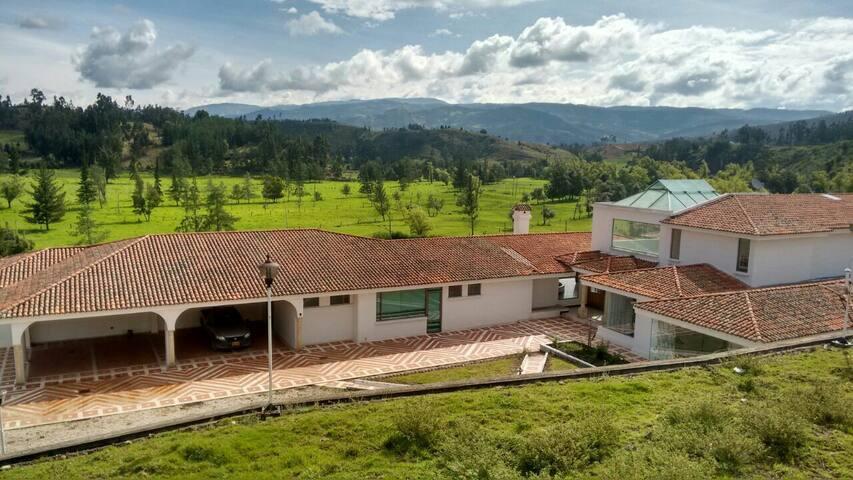 Amazing House in Boyacá!