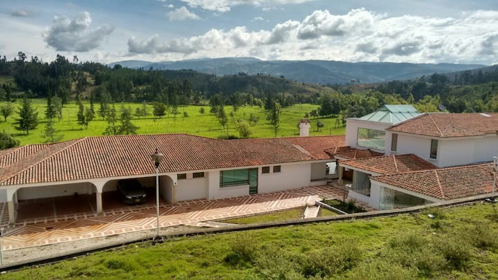 Amazing House in Boyacá!