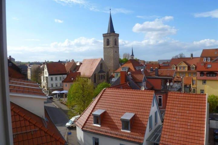 Eigene Wohnung -  mitten in der Erfurter Altstadt