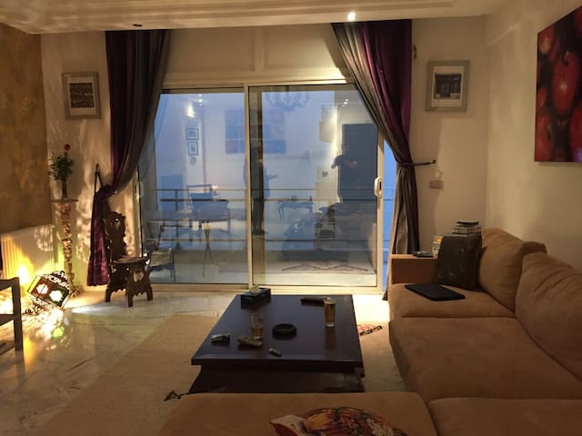 modern flat with 4 balcony sea view - Tunis - Apartment