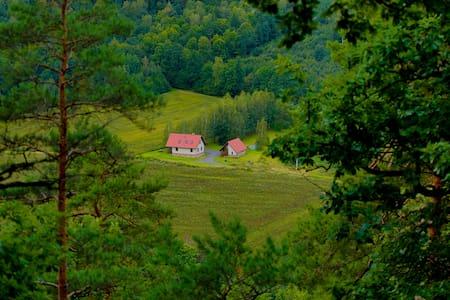 Agatowe Piekielko, cały dom - cisza,spokój,las