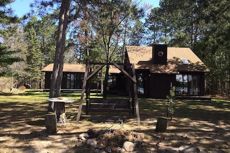 Large LakeHome and Great Beach! Reunion Haven! - Akeley