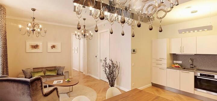 Stilvolles Apartment im Luxushotel Sans Souci Wien