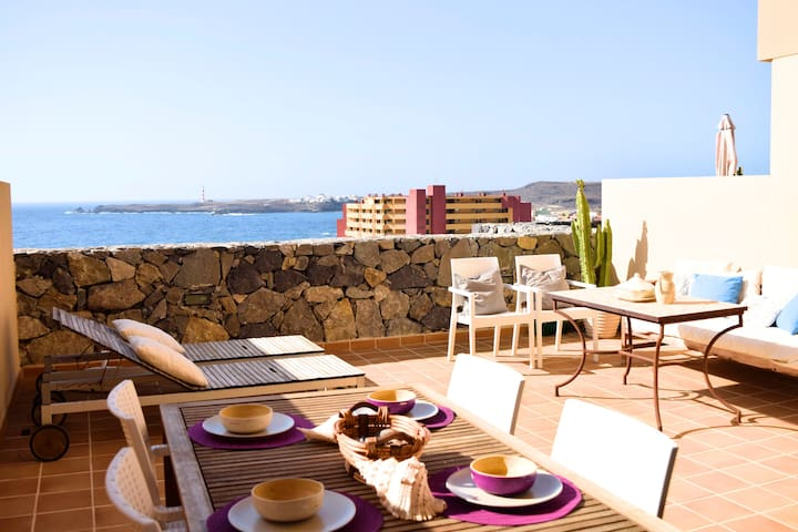 Beautiful sea view duplex - Santa Cruz de Tenerife - Apartemen