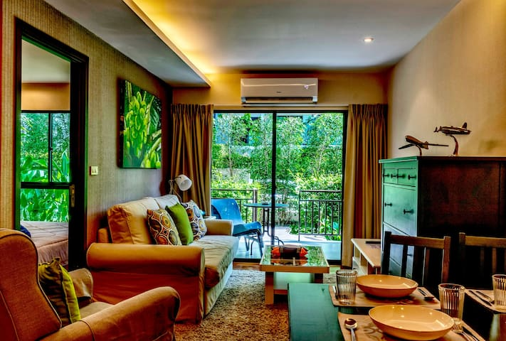 ❀Luxury Ground Floor 1-bedroom Condo, Title, Rawai