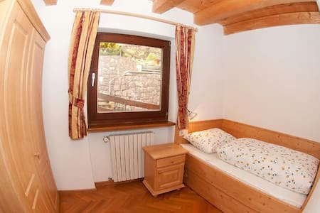 Room for 1 skier 80m from ski slope - San Vigilio