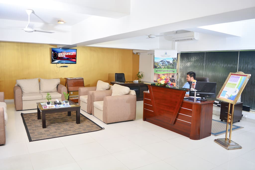 Front office Reception-open 24 Hours