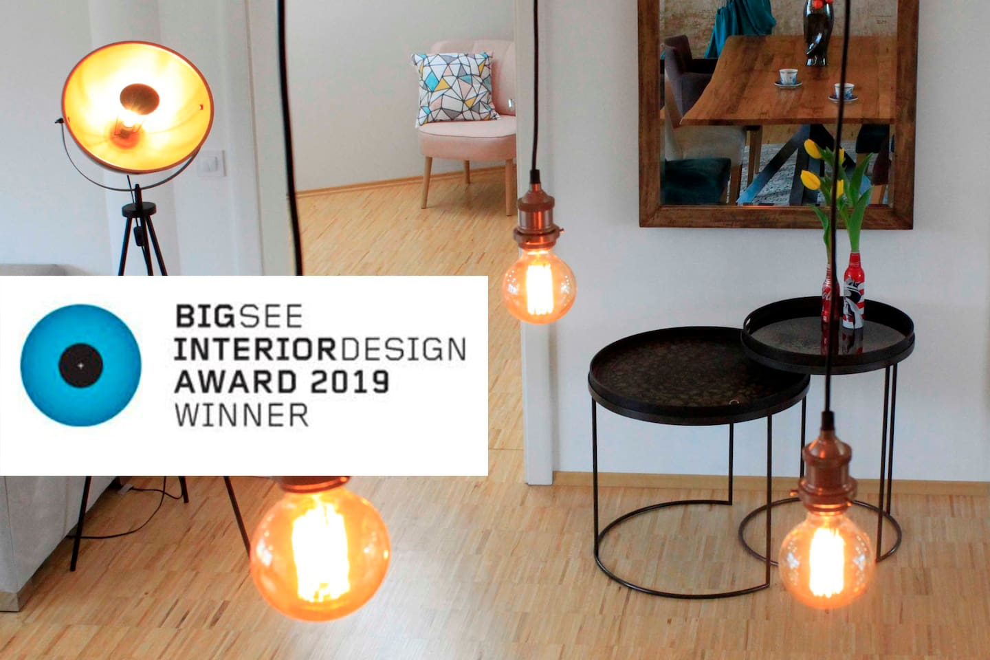 BIGSEE INTERIOR DESIGN AWARD 2019  WINNER - RESIDENTIAL