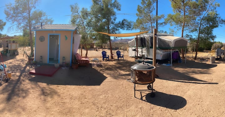 Camp Walpi in Joshua Tree