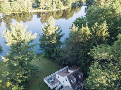 Direct Waterfront with Private Beach - Entire Home