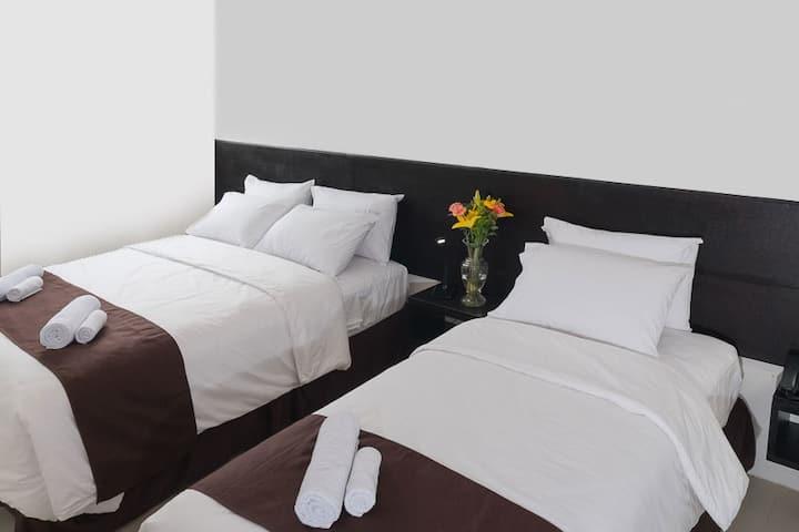 Habitación Doble Estándar en Hotel La Ría Playas