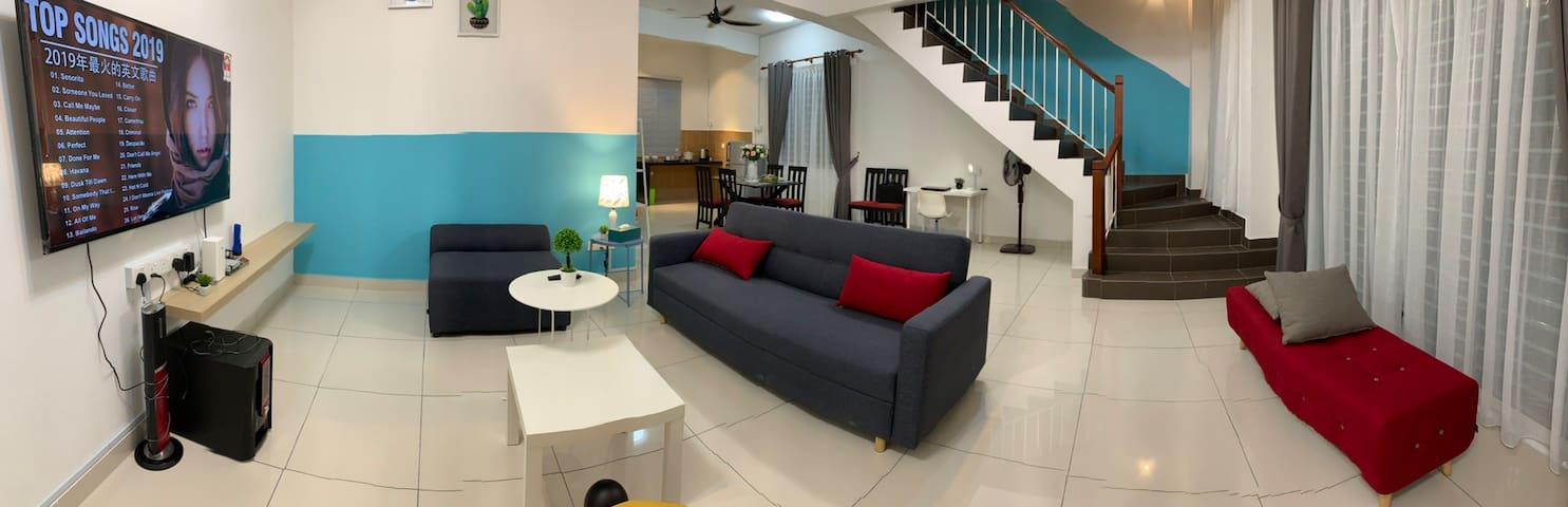 (NEW) Broga-Semenyih 5R3B Luxury Homestay中文房东