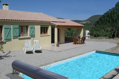 Villa au calme avec piscine privative - Cabrières - House