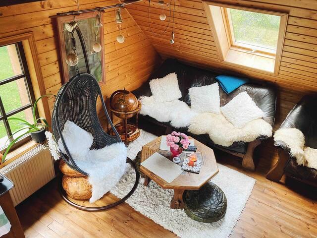 Cozy Studio apartment in private house, Jurmala
