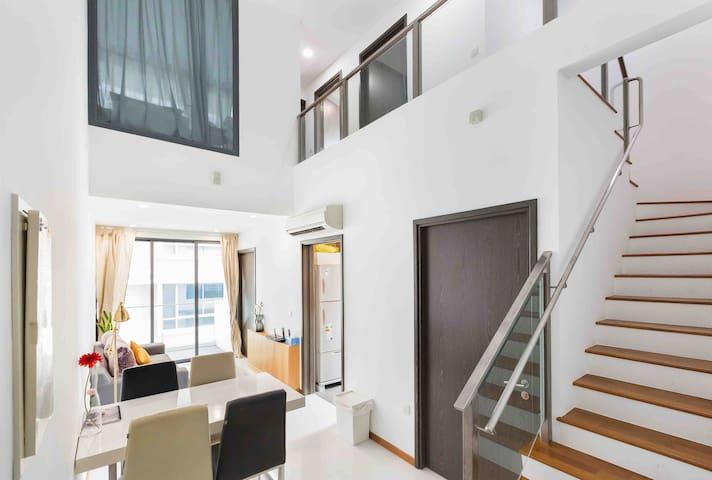 Sunny Penthouse* MasterRoom 1-1  @East Coast