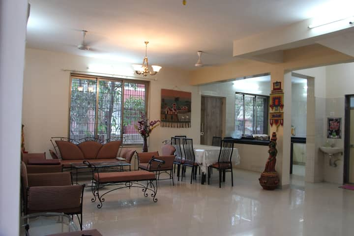 Ashirwad Bunglow -3 BHK holiday home near matheran