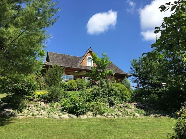 Beautiful Country Log Home