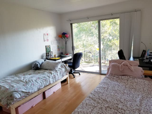 Gorgeous private bedroom on Northside Berkeley