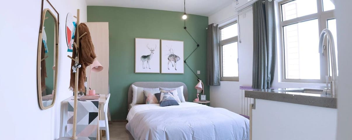 精品环境一流的公寓 拎包入住 家电齐全 随时看房