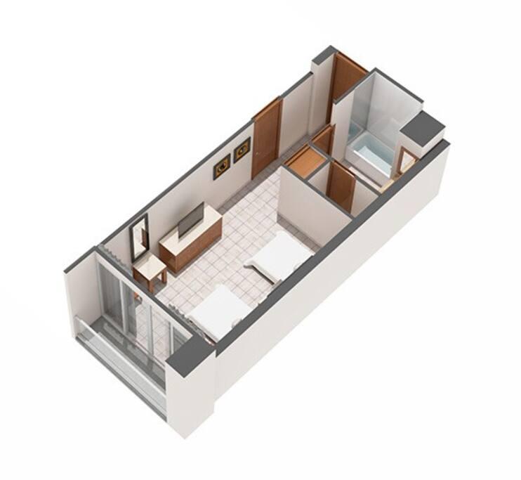 Master room plan