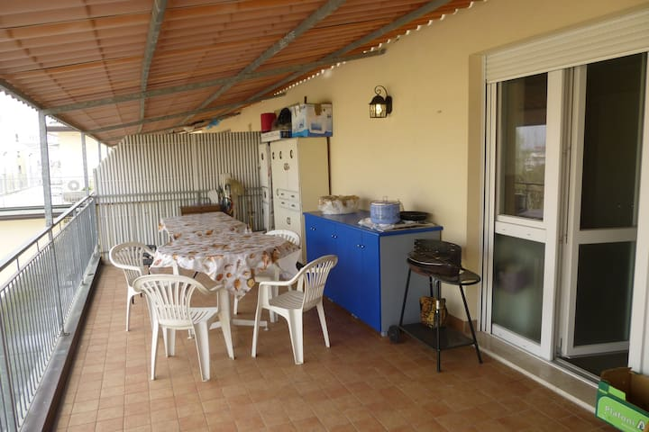 Penthouse - terrace 250 m from sea - Bibione - Apartment