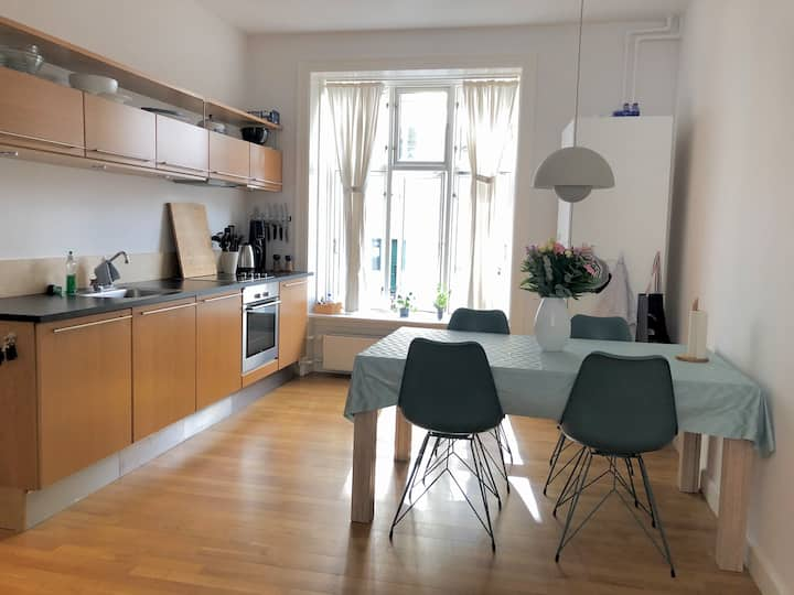 Lovely apartment in the centre of Copenhagen