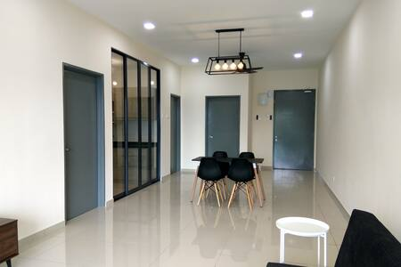Cozy Room for 2-4 Pax @ Bandar Sungai Long, Kajang