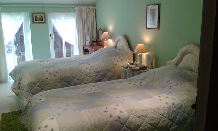 Bedroom 3 with en-suite on ground floor