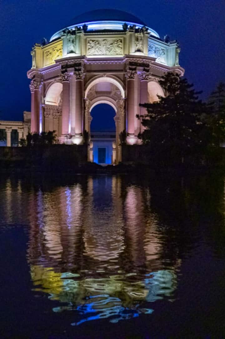 Capture Reflections @Palace of Fine Arts