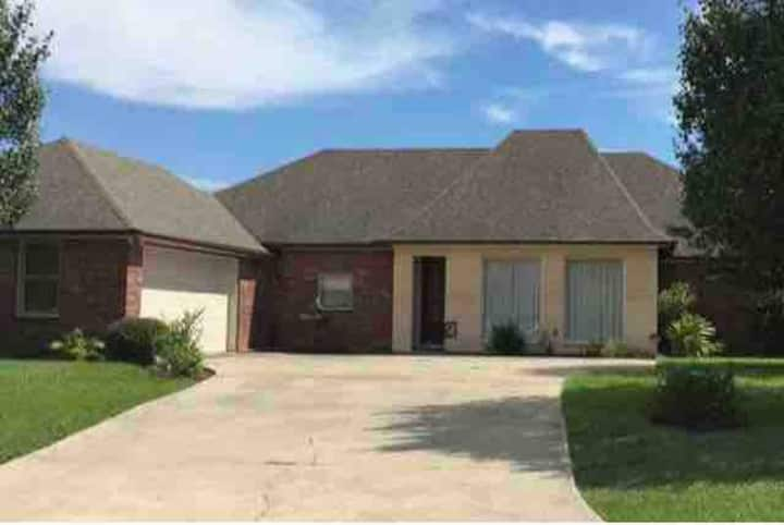 Beautiful home in the center of Youngsville.