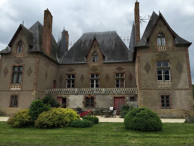 Manoir de la Chouannière à Montreuil-sur-Maine