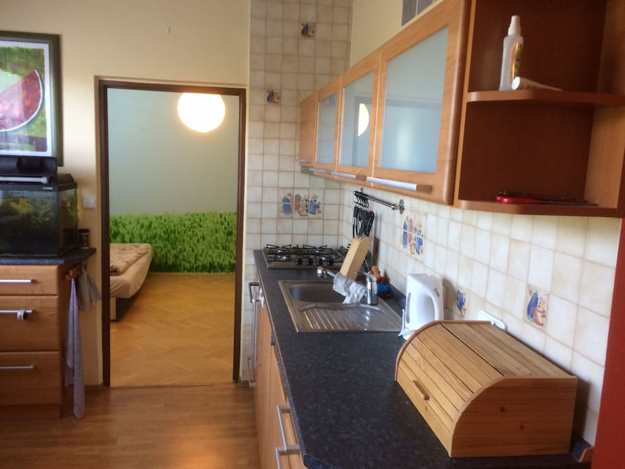 Fully Equipped Garage : Nice fully equipped bedroom apartment garage flats