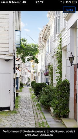 Lovely apartment in the city (Bergen) - Bergen