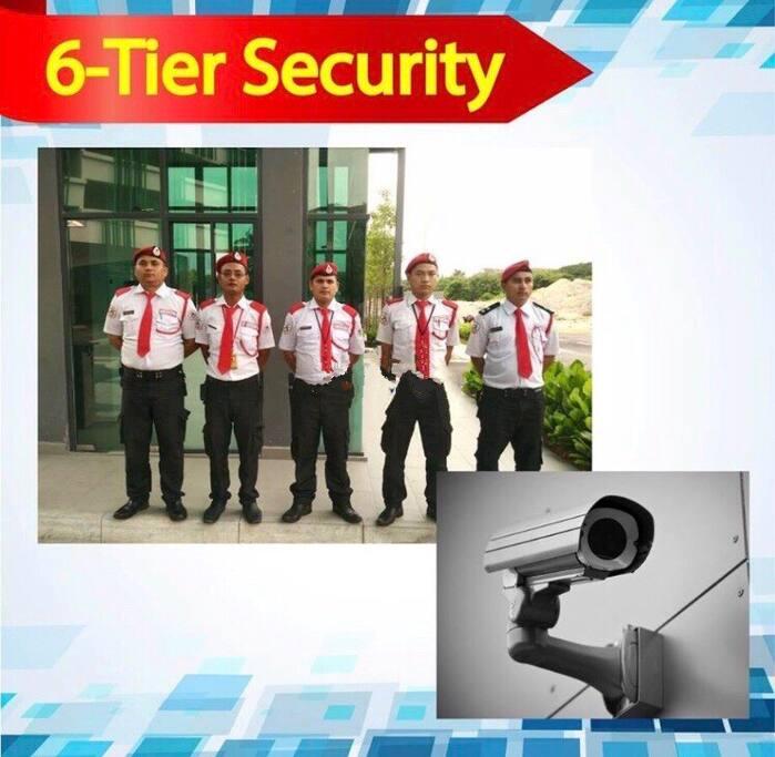 6-Tier Security  六层深严保安