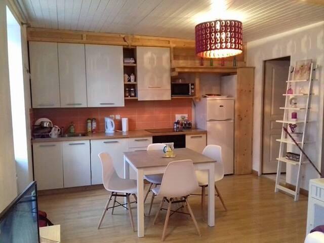 Appartement au coeur de Sallanches - Sallanches - Lägenhet