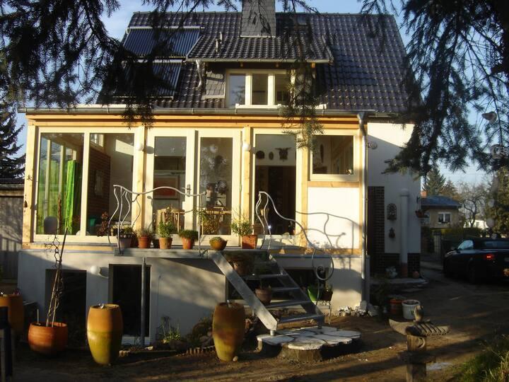 Doppelzimmer - restauriertes Haus mit Wintergarten