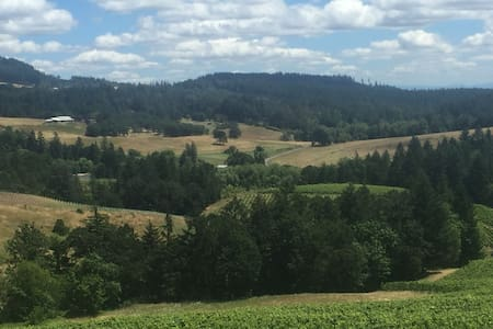 Wine Country Oregon Camping on Beautiful Farm! - Newberg - Sátor