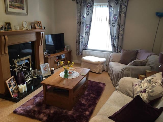 Dbl Rm w/brkfst, PARKING, mins to the city centre - Belfast - Leilighet