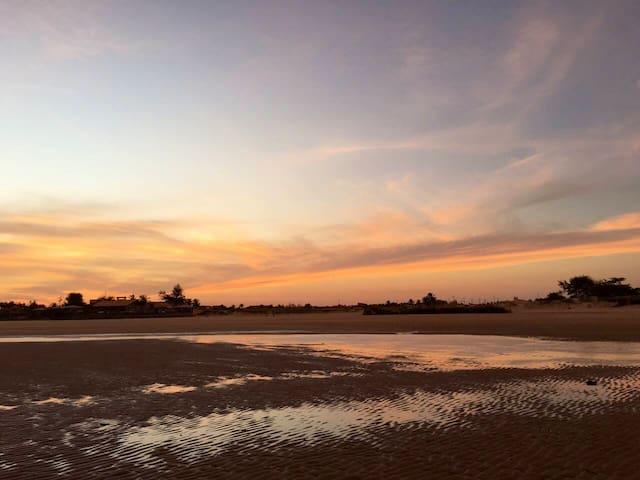 Chalé BELA VISTA -Praia de Aguas Belas -FRENTE MAR