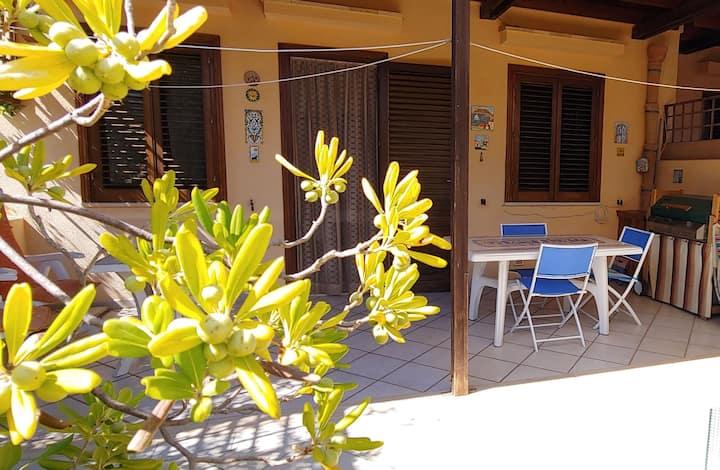 Casa Aquamarina 39 san vito lo capo vicino al mare