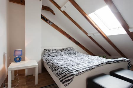 Lovely, basic & affordable attic @ the city center