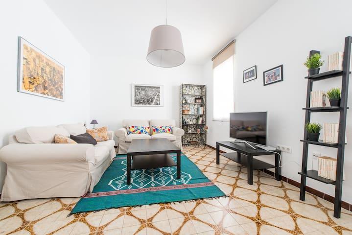 Piso de 6 plazas en Sevilla capital, zona Palmera - Sevilla - Wohnung