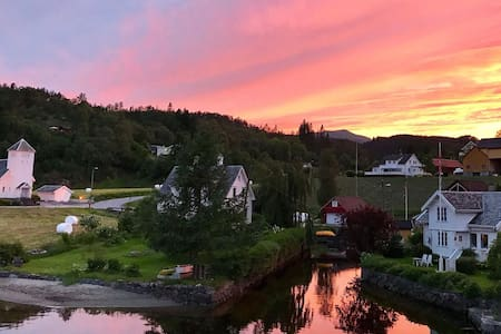 3-roms leilighet ved fjordkanten i Marvik, Suldal