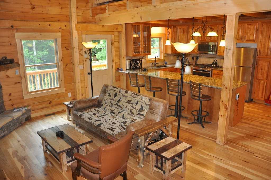 Gorgeous Real Log Cabin in the Smoky Mountains