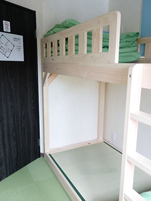 Double Room: Japanese-style Bunk